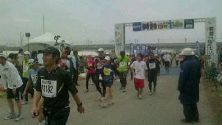 最後の?フルマラソン完走