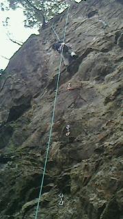 奥多摩天王岩