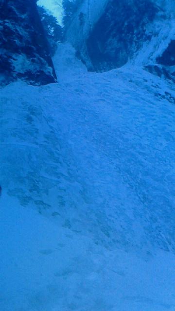 層雲峡銀河の滝