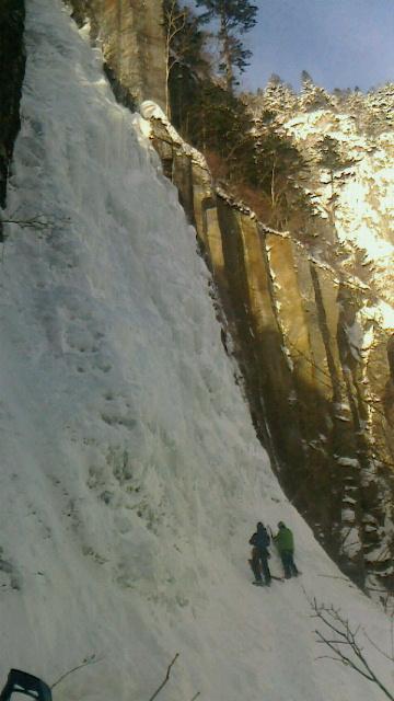 層雲峡錦糸の滝