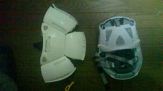 折り畳みヘルメット