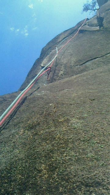 比叡山ニードル左岩稜