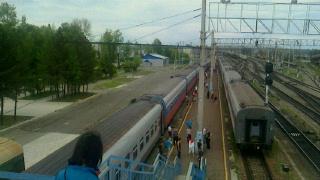 シベリア大平原を行く