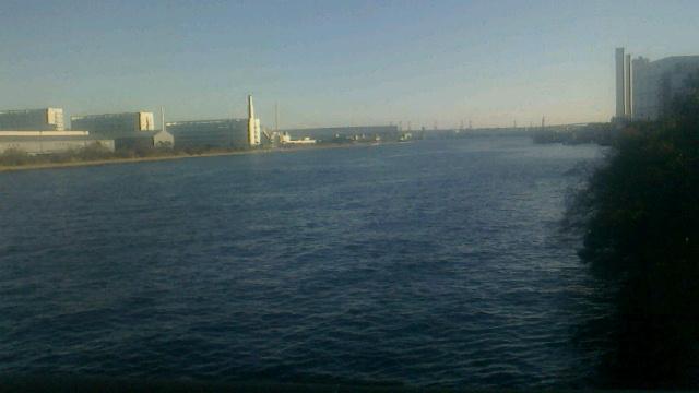 鶴見川で初乗り