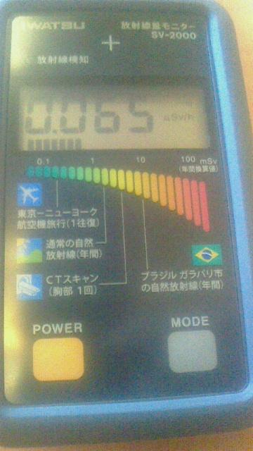 放射能線量計