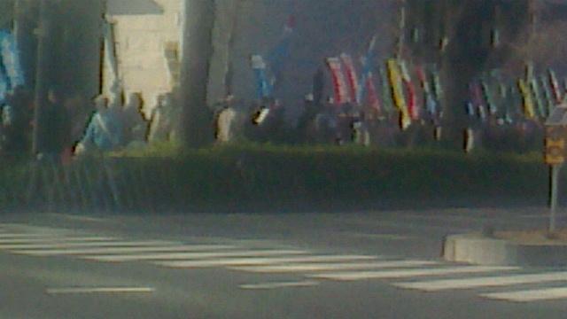 2,21辺野古埋立阻止国会包囲抗議行動
