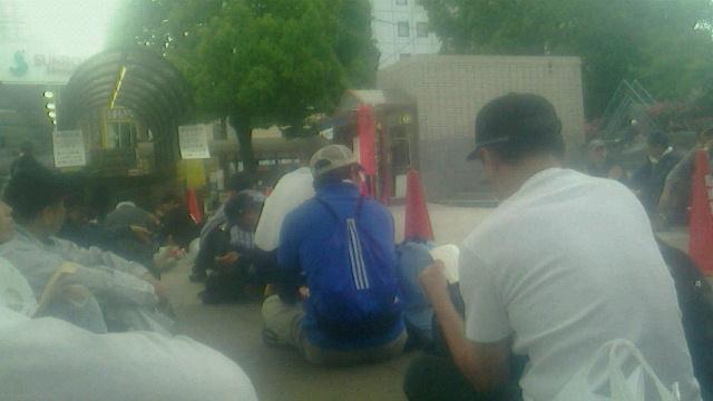 熊本ボランティア初日