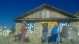 ランタントレッキング(<br><br>  携帯版)  <br><br>  ゴサイクンドからシンゴンパへ下山